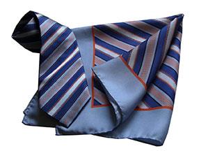 Галстук корпоративный с логотипом №24